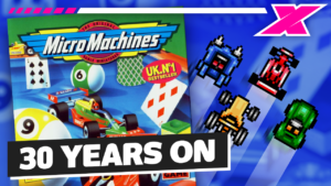 WATCH: 30 years of Micro Machines video games