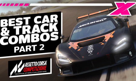 WATCH: The best car and track combos in Assetto Corsa Competizione