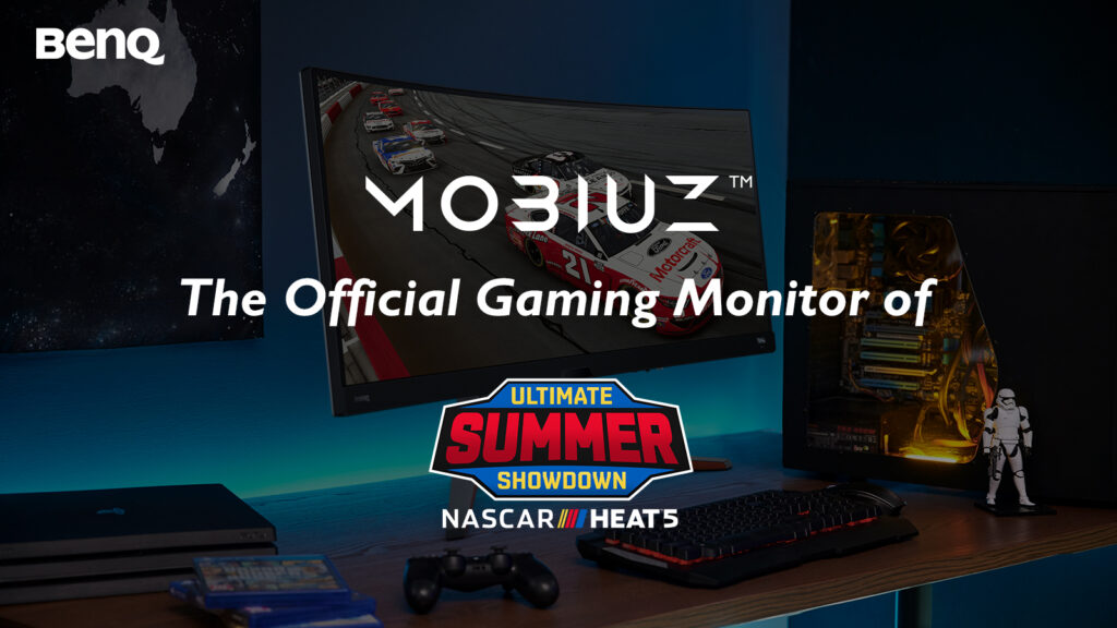 NASCAR Heat 5 Ultimate Summer Showdown esports to be broadcast on Traxion Mobiuz BenQ