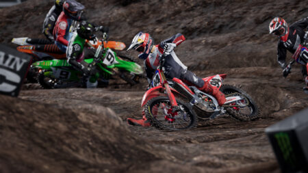 Supercross 4 Track Editor competition