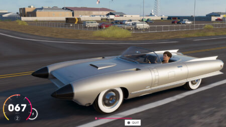 1950s Cadillac Cyclone XP-74 Concept now in The Crew 2