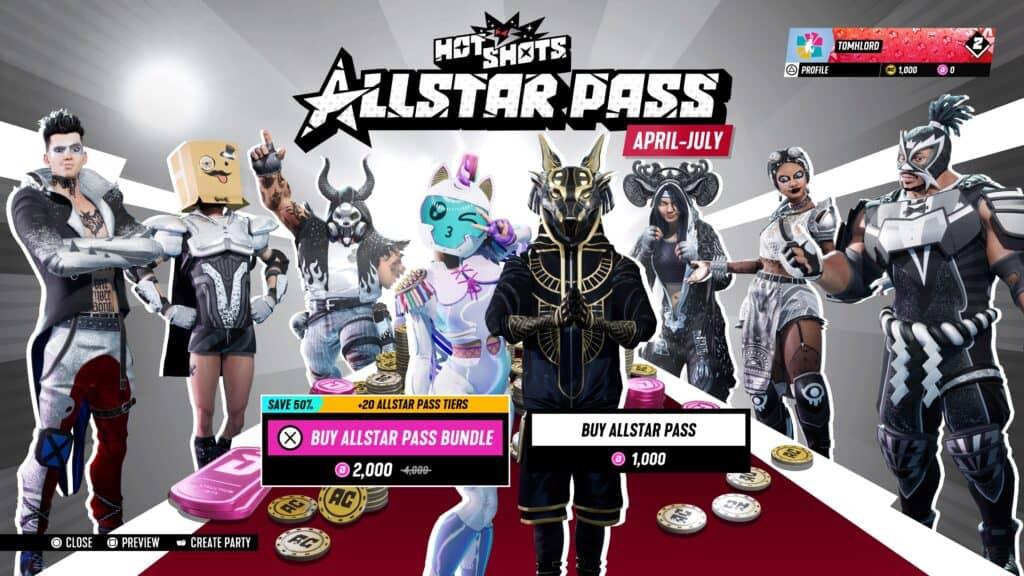 Destruction AllStars Allstar pass