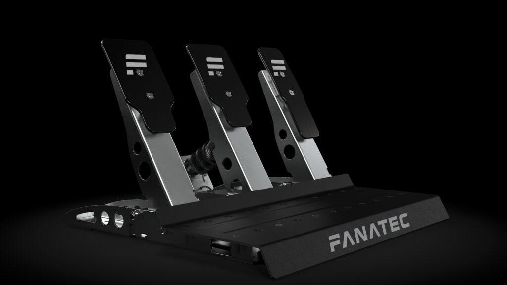 Fanatec CSL Pedals with optional load cell and tuning kit