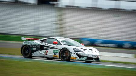 McLaren GT4 test completed for 2020 ADAC GT Masters Esports champion