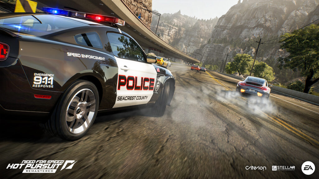 Need for Speed: Hot Pursuit Remastered, Police Chase