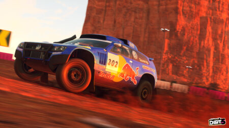 Latest DIRT 5 update features online cross-play and Red Bull liveries