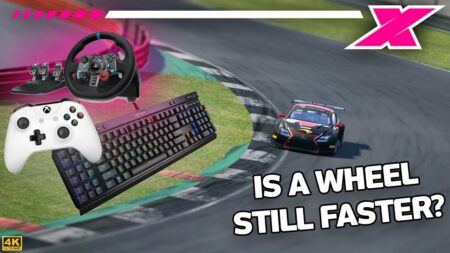 WATCH: What's quicker? Controller, wheel or keyboard?