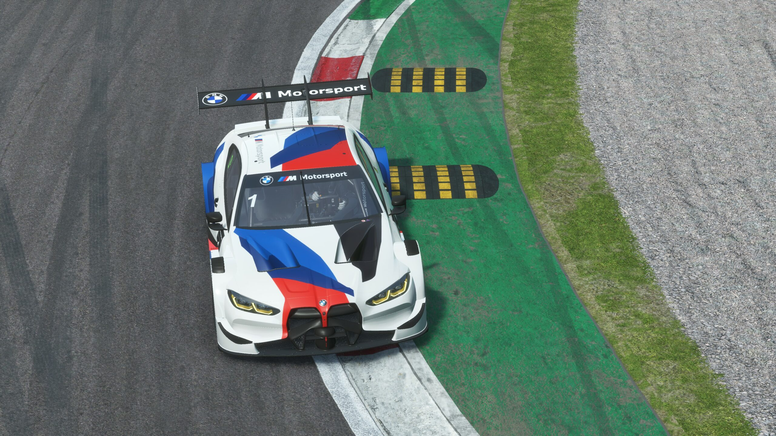 Hands-on with the new BMW M4 Class1 and Monza in rFactor 2