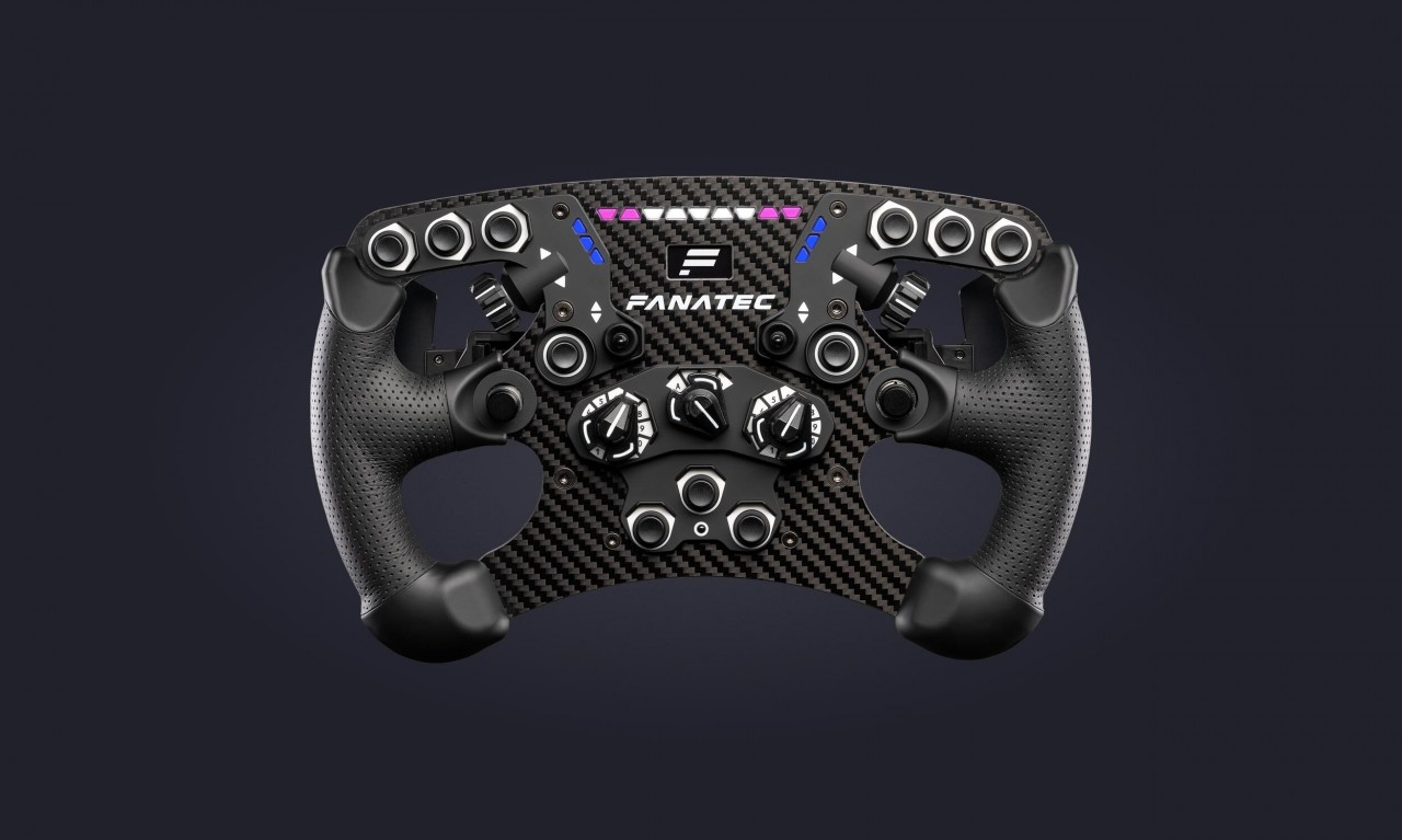 Fanatec announces preorder for new ClubSport Steering Wheel Formula V2.5