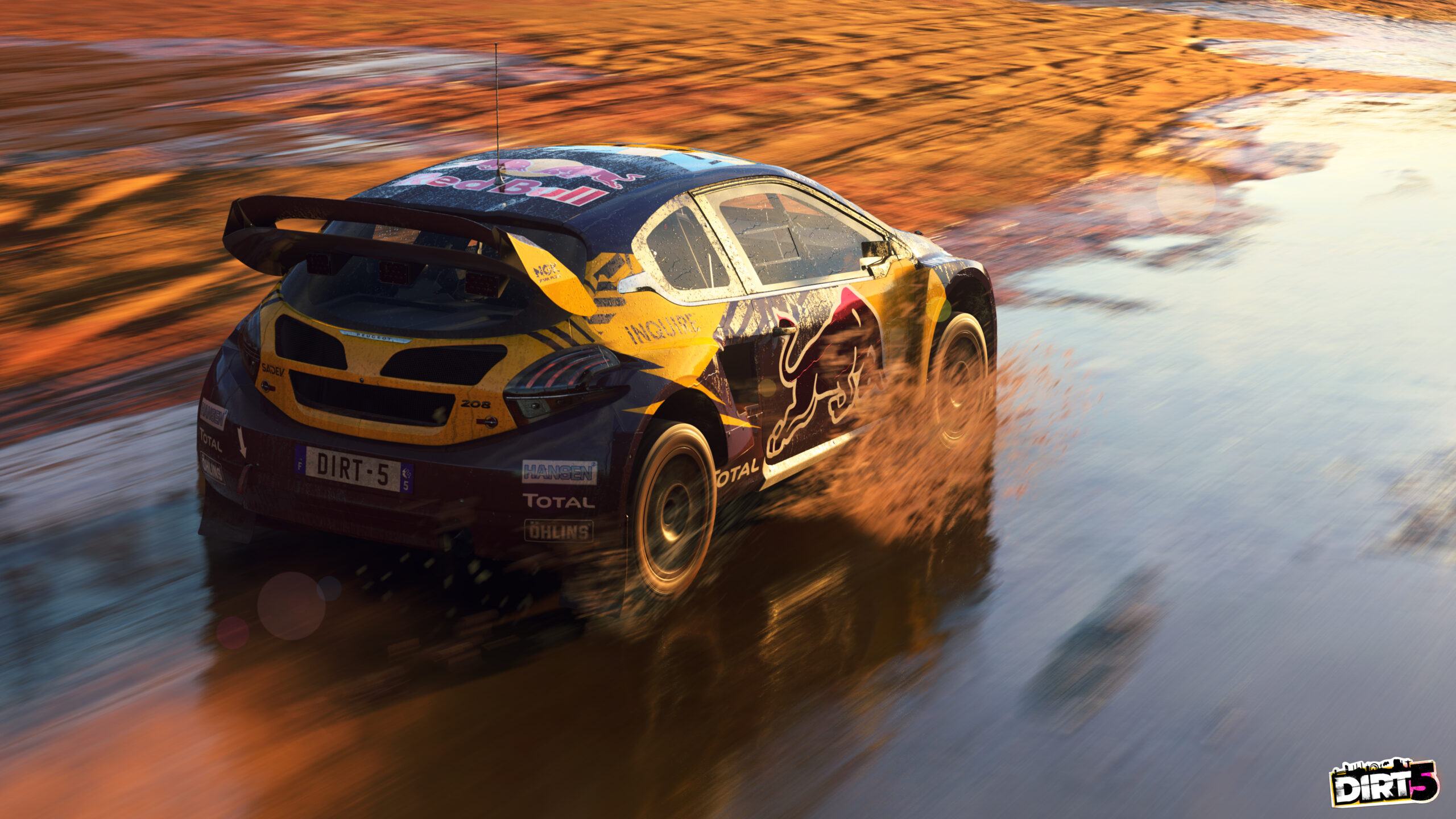 Patch 4.04 for DIRT 5 adds PlayStation Fanatec wheel support
