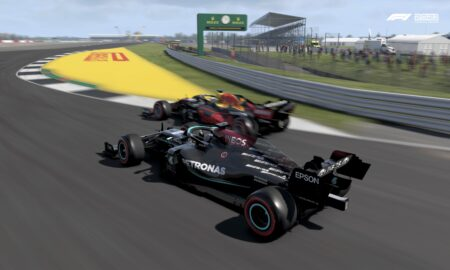 F1 2021 game tops UK physical sales charts