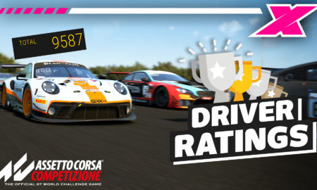 How the driver ratings in Assetto Corsa Competizione work
