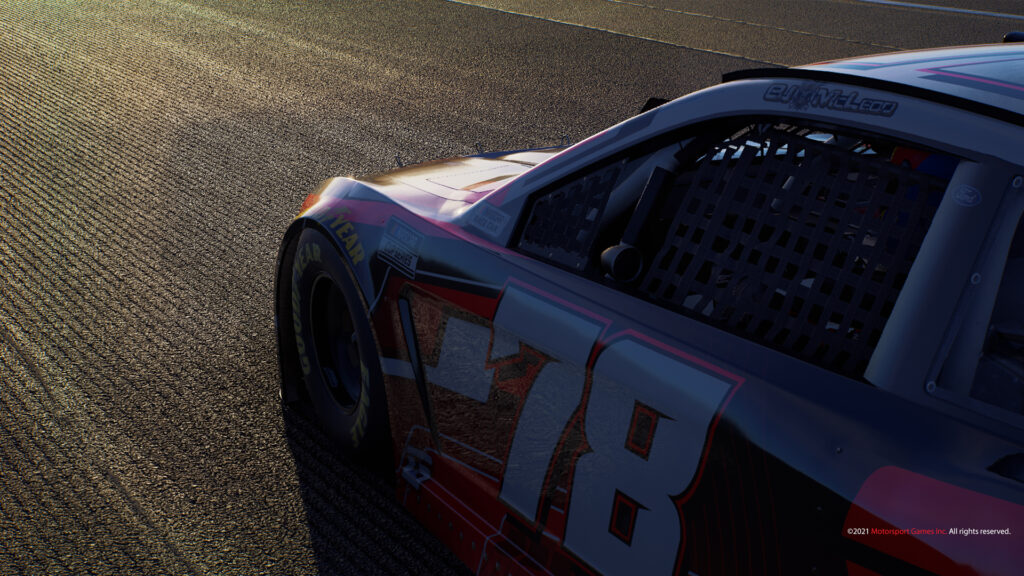 New NASCAR game, surface detail