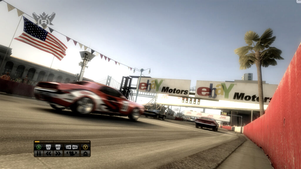 Race Driver GRID replay US muscle