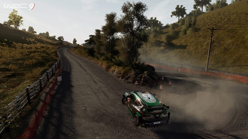 WRC 9 on Xbox Series S and Series X