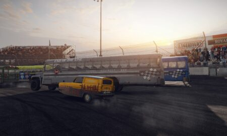 Wreckfest adds PlayStation save transfer, cross-gen multiplayer and new PC visuals