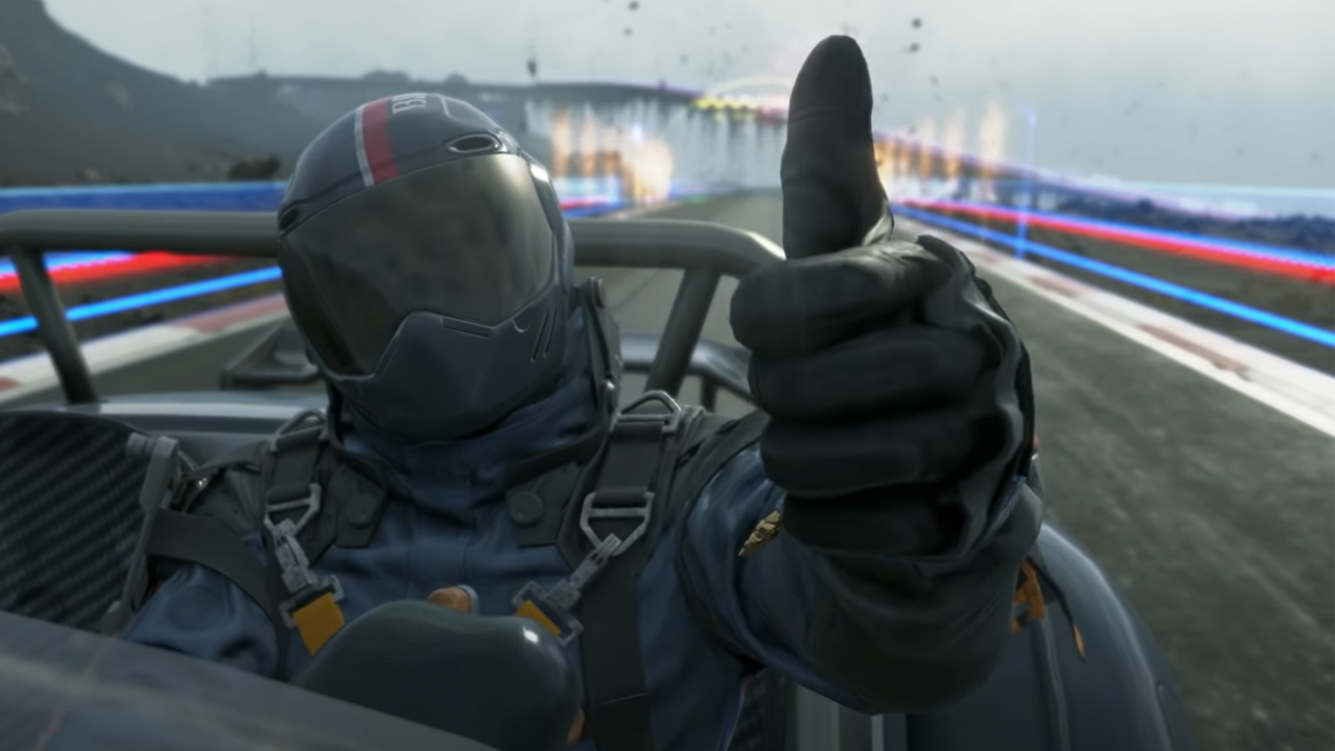 Death Stranding is now a racing game, kind of