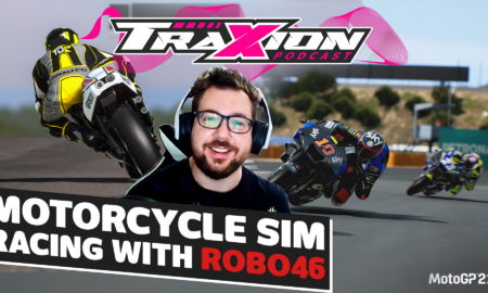 The current state of motorcycle sim racing with ROBO46 | The Traxion.GG Podcast, Season 2, Episode 13