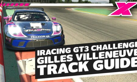 iRacing Fanatec GT Challenge - Porsche GT3R Montreal track guide Season 3 2021 Week 12 | Dave Cam