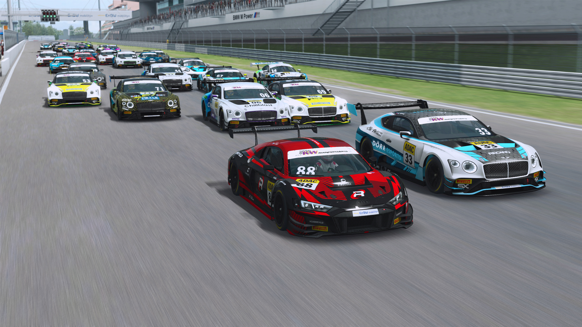 Siggy wins Feature Race as Löhner extends 2021 ADAC GT Masters Esports Championship lead