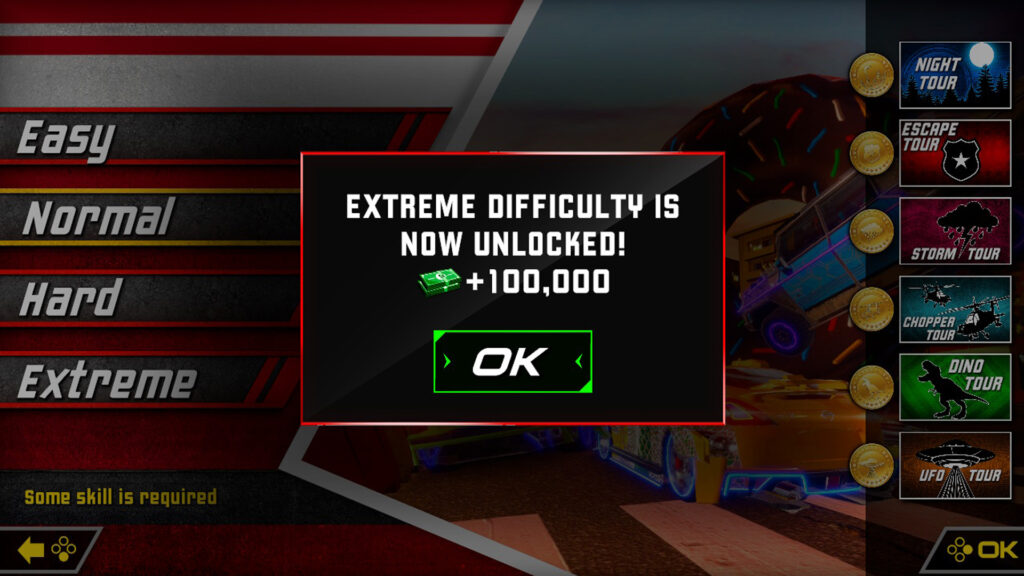 Cruis'n Blast Nintendo Switch Extreme difficulty