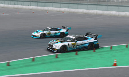 Isaac and Bánki enjoy victories in ADAC GT Masters Esports Championship