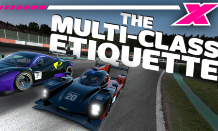 Sim racing multi-class etiquette, and how to crush the field