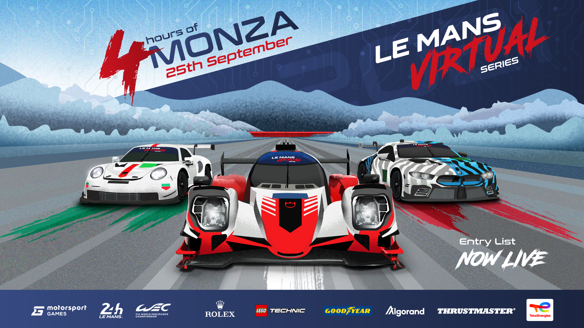 Driver line-up for first Le Mans Virtual Series race revealed