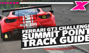 2021 iRacing Season 4 Ferrari GT3 Challenge - Week 1 at Summit Point Track Guide | Dave Cam