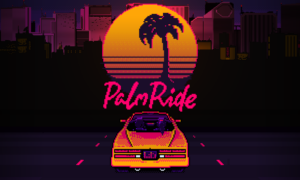 """""""Retro-futuristic"""" driving game 'PalmRide' now available on Steam"""