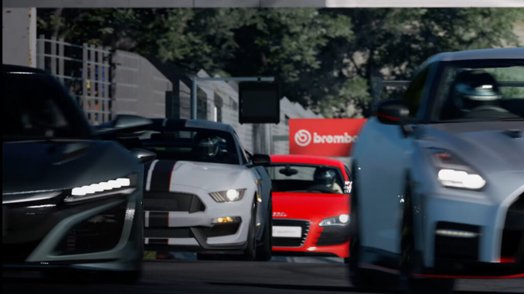 Ford Mustang Shelby GT350R Gran Turismo 7 Monza