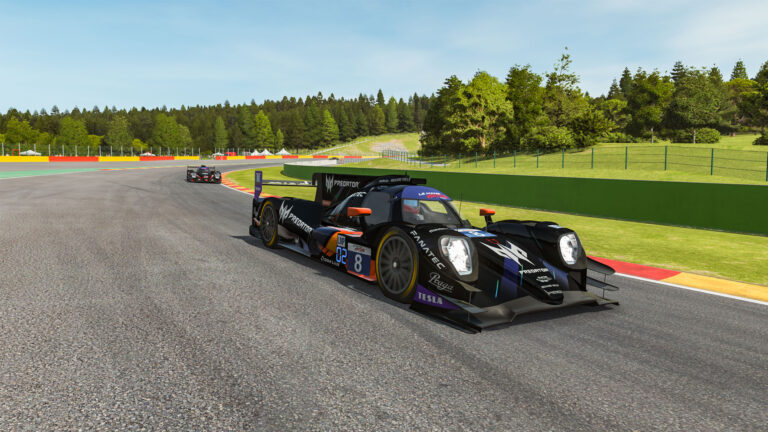 Le Mans Virtual Series, Spa: R8G Esports and Proton Competition lead at halfway