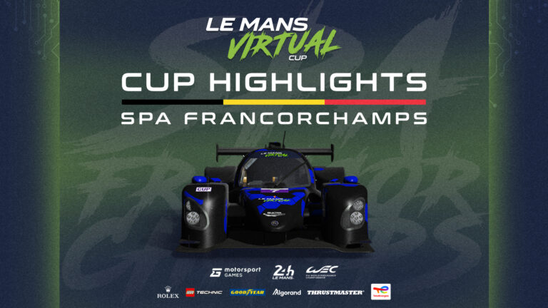 WATCH: Virtual Le Mans Series Cup Round 2 highlights
