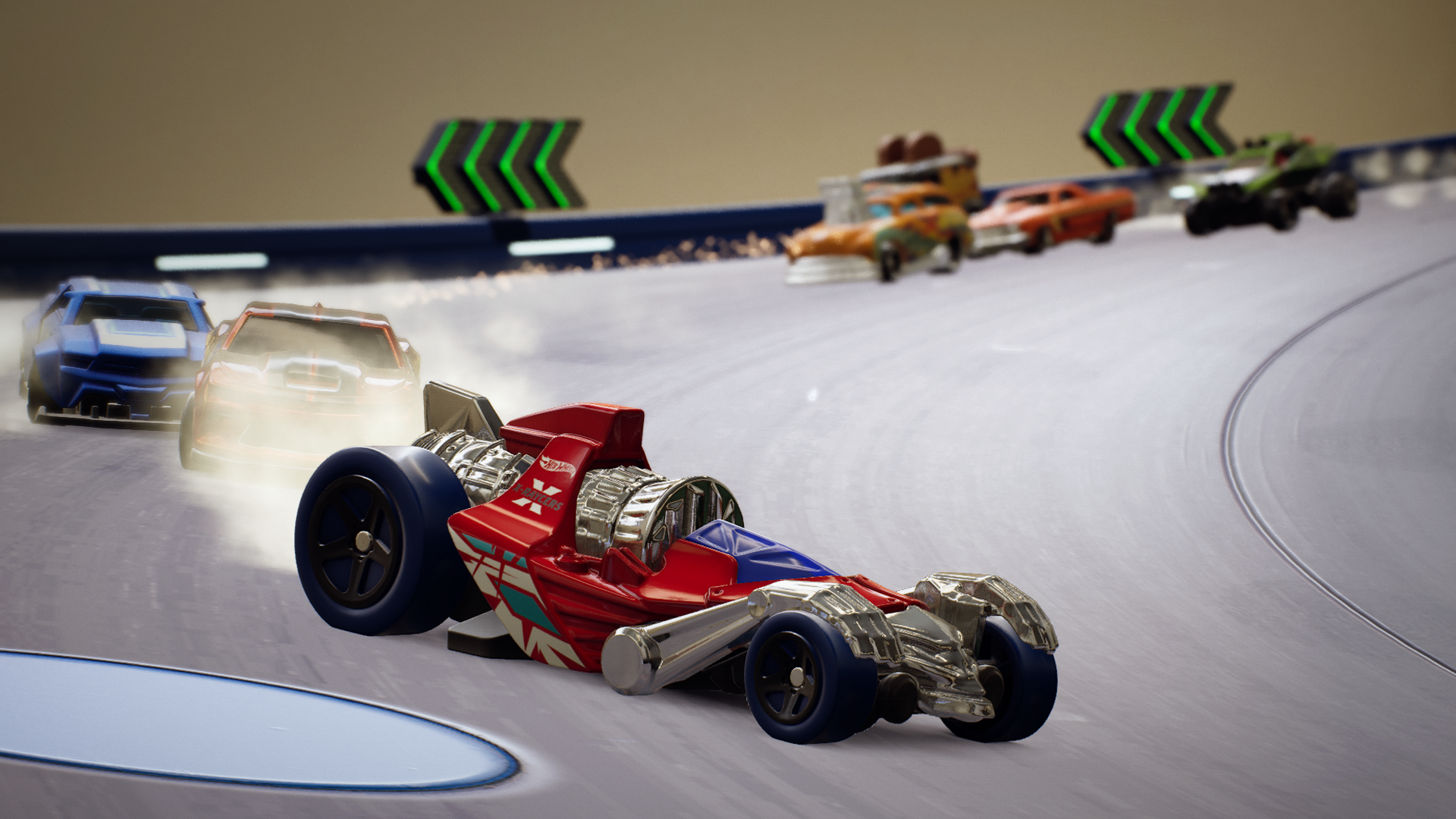 First patch released for Hot Wheels Unleashed